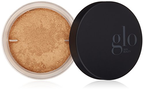 Glo Skin Beauty Loose Base - Honey Medium - Illuminating Loose Mineral Makeup Powder Foundation - Dewy Finish - 9 Shades