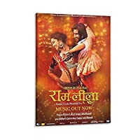 Bollywood Movie キャンバス アート ポスターとウォール アート イメージ プリント モダンな家の寝室のインテリア ポスター 08×12inch(20×30cm)