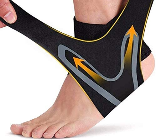 Xroam Ankle Support Brace 2 Pack Adjustable Ankle Brace with Breathable Elastic Nylon Material product image