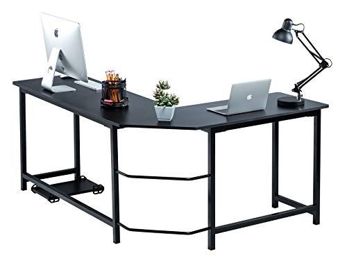 Fineboard Stylish L-Shaped Office Comput...