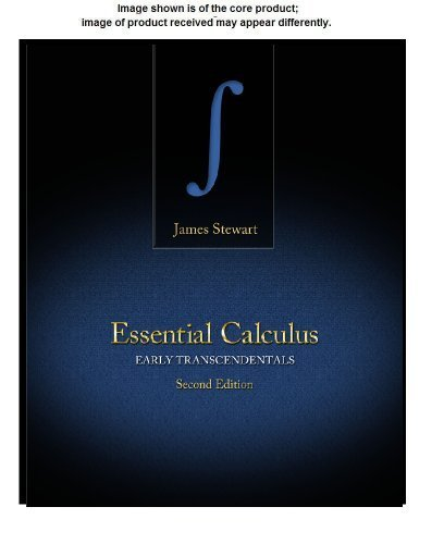 Student Solutions Manual for Stewart's Essential Calculus: Early Transcendentals, 2nd 2nd edition by Stewart, James (2012) Paperback