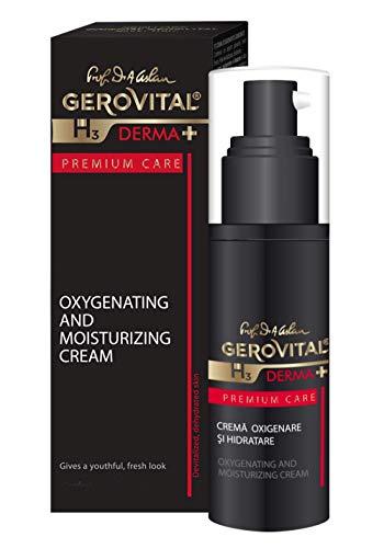 Gerovital H3 Derma+ Premium Care, La crema de oxigenación e hidratación Tipo de piel: deshidratada, 30 ml