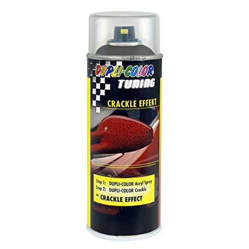 Dupli-Color 466434 Crackle Tuning Effekt Lackspray, Schwarz