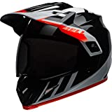 BELL HELMET MX-9 ADVENTURE MIPS DASH BLACK/WHITE/ORANGE M
