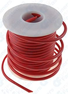 Clipsandfasteners Inc 14 Gauge PVC Primary Wire Red 25'