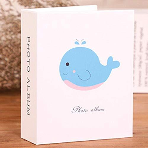 EDCV Foto's Boek Case Kid Album Opslag Familie Bruiloft Geheugen 6 inch 100 Afbeeldingen Zakken Cartoon Fotoalbum Interstitial, als foto