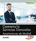 Operario/a servicios generales ayuntamiento madrid temario