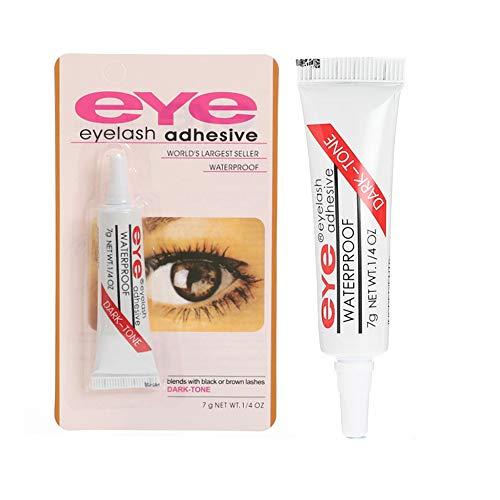 Huir Colle à cils professionnelle Forte tenue pour les faux cils Adhésif pour cils Coffre-fort sur la peau pour les yeux sensibles 7g / 0.24oz