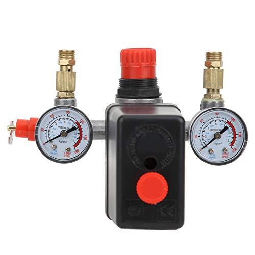 Valvola di controllo della pressione Pressostato del compressore Interruttore di controllo della pressione regolabile Regolatore del collettore per il sistema pneumatico