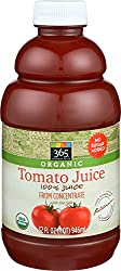 365 Everyday Value, Organic 100% Juice from Concentrate with Sea Salt, Tomato Juice, 32 fl oz