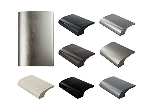 MS Beschläge Balkongriff Ziehgriff Terrassentürgriff Deluxe - Aluminium - diverse Farben (Edelstahl eloxiert)
