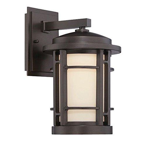 "Designers Fountain LED22431-BNB Barrister 9"" LED Wall Lantern"