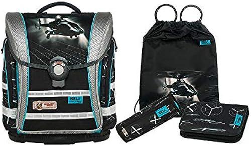 Schultaschen-Set McNeill ERGO Light Compact Flex, 4-tlg., Heli