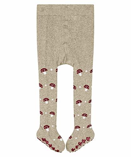 FALKE Unisex Baby Mushroom Catspads B HP Hausschuh-Socken, Beige (Sand Mel. 4650), 12-18 Monate (80-92cm)
