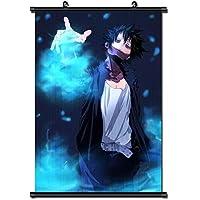 日本のアニメヒーローアカデミアファブリック絵画アニメ家の装飾壁スクロールポスター装飾用 50x75cm