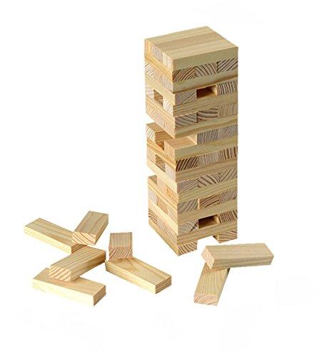 Beluga Spielwaren 30202 - Turmania Stapelspiel Holzspiel Wackelspiel Balancespiel Geschicklichkeitsspiel