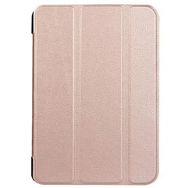HL CASES And COVERS Schöne Fälle, Abdeckungen, Hülle Für Huawei MediaPad X2 mit Halterung Origami Ganzkörper-Gehäuse Volltonfarbe Hart PU-Leder für Huawei MediaPad X2 (Farbe : Golden)