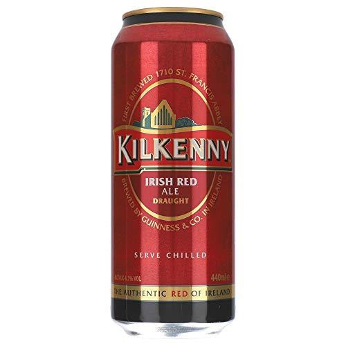Kilkenny Irish Beer Draught 4,3% 24 x 0,44 ltr inc. 6,00€ EINWEG Pfand