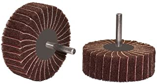 1 Width 1//4 Shank 1//4 Shank 1 Dia. Taipan Abrasives TO-5604  Original Aluminum Oxide Interleaf Flap Wheel Medium 120 Grit 12000 RPM 1 Width 1 Dia
