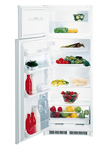 Hotpoint BD 2422 S HA Incasso 220L A+ Acciaio inossidabile frigorifero con congelatore