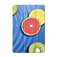 Sepikey iPad Pro 10.5 2017,iPad Air 3 2019 ケース/iPad Pro 保護カバー,指紋防止 三つ折 落下抵抗 防塵 スリムなPUレザー 3つ折り スタンド機能付き タブレットケース iPad Pro 10.5 2017,iPad Air 3 2019 Case-レモン