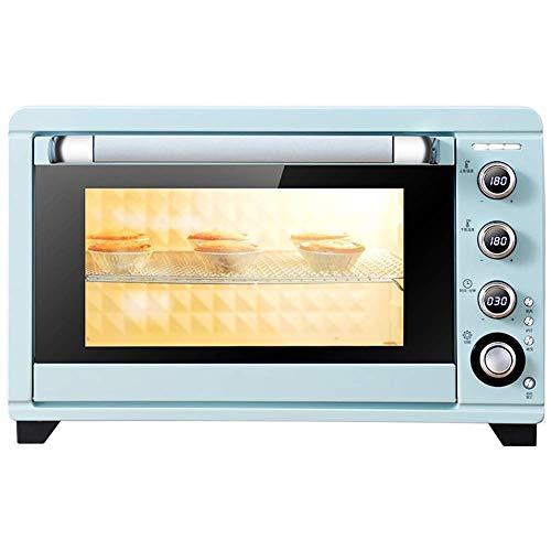 Atten Aufsatz- Toaster, 3 Sechs-Zoll-Kuchen  Unabhängige Temperaturregelung von Ober- und Unterrohre  Heißluft und Gabel  2000W