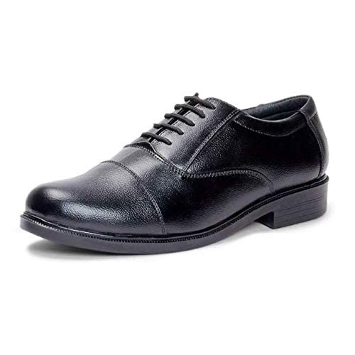 a946944426 BHAGWATI BOOT HOUSE Oxford Genuine Leather Shoes for Men 6UK (BBH-Oxford-_