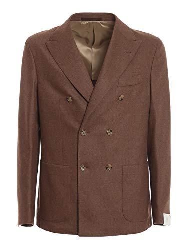 Eleventy - Tuta in misto lana e cashmere - marrone - 60