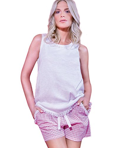 Hippy - Pijama de sisí de algodón para Mujer