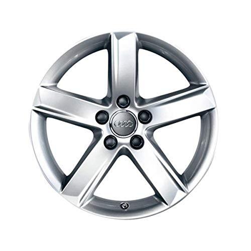Audi 8K0 071 497 A 8Z8 Leichtmetall-Felge Alufelge Aluminiumfelge 17 Zoll Gussrad 5-Arm-Design, Silber