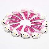 Jedes schöne Hello Kitty Haarspange mit Schnappverschluss, niedliches elastisches Haarband für Kinder.