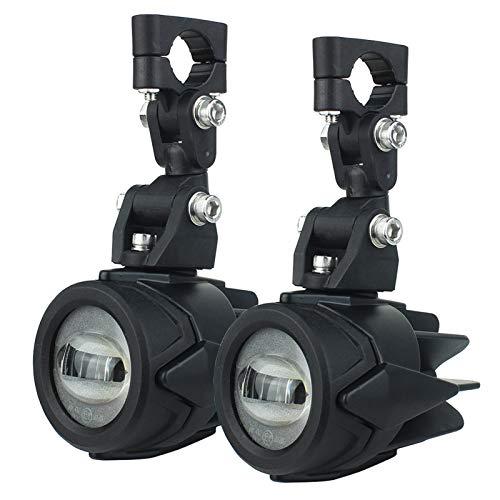 Luces auxiliares para la Motocicleta 40W 6000K Spot ACONDIBLE LÁMPULAS DE NIÑOS para R1200GS F800GS F700GS F650 K1600 (Color : Light)