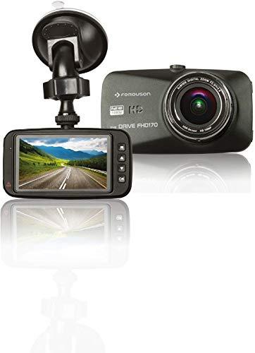 Ferguson Eye Drive FHD 170 Auto Dashcam Kamera Kamera G-Sensor und Aufnahme Funktion Funktion Bewegungserkennung, Aufzeichnung in Loop, Park-Monitor, Ladegerät, USB-Kabel