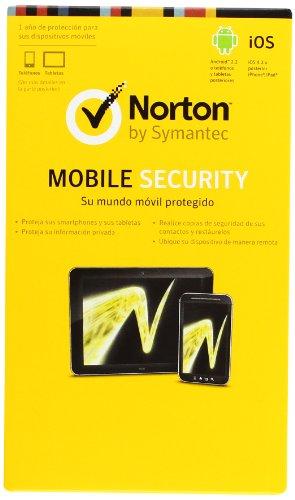 SYMANTEC - ANTIVIRUS NORTON MOBILE SECURITY TABLETAS SMARTPHONE IPHONE IPAD