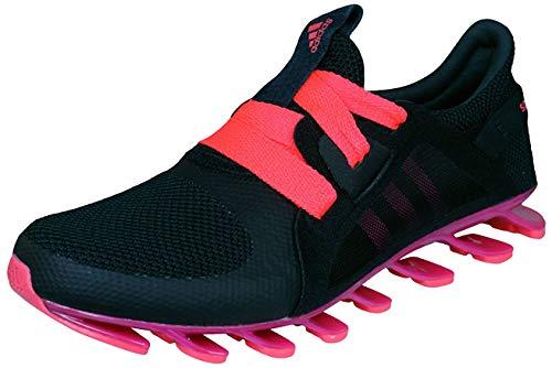 Adidas para Mujer Springblade Nanaya con Zapatillas Running - Rojo/Negro, 37.5