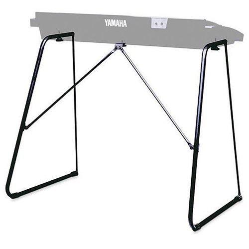 Yamaha L-2C Supporto per Tastiera Elettronica Digitale, Design Portatile e Pieghevole, Compatibile con Diverse Tastiere Portatili Yamaha, Nero