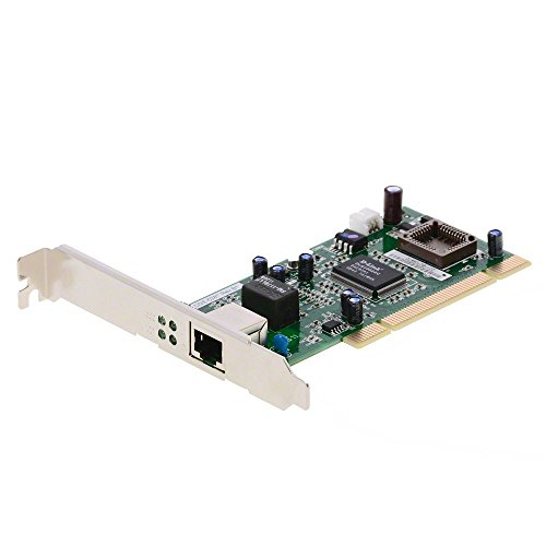 D-Link DGE-528T – Tarjeta PCI Gigabit Ethernet RJ45 (10/100/1000 Mbps), Compatible con Windows, Windows Server, Linux y MacOS