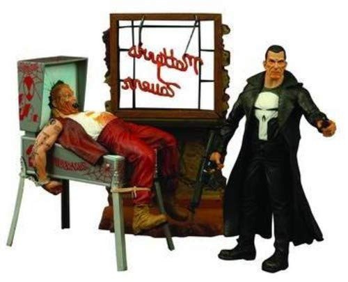 A Diamond Select release The classic Marvel comics anti-hero Inspired by Tim Bradstreet's iconic interpretation Includes pinball machine and informant figure Deluxe packaging