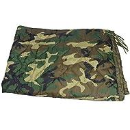 HighSpeedDaddy HSD Poncho Liner Woobie Military Style BDU Camo Blanket (Woodland, Adult)