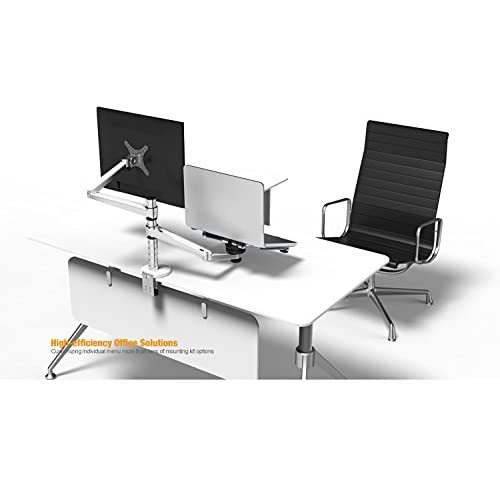 MagicHold 2 in 1 360º Rotating Double Laptop/monitor Holder/stand for Desk/
