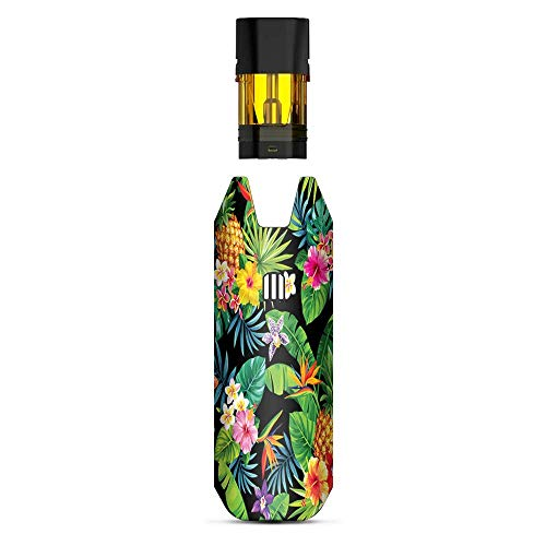 IT'S A SKIN Decal Vinyl Wrap Compatible with STIIIZY BIIIG Big TM Premium Vaporizers Sticker Sleeve Cover | Vape Stickers Skins Cover| Tropical Flowers Pineapple Hibiscus Hawaii