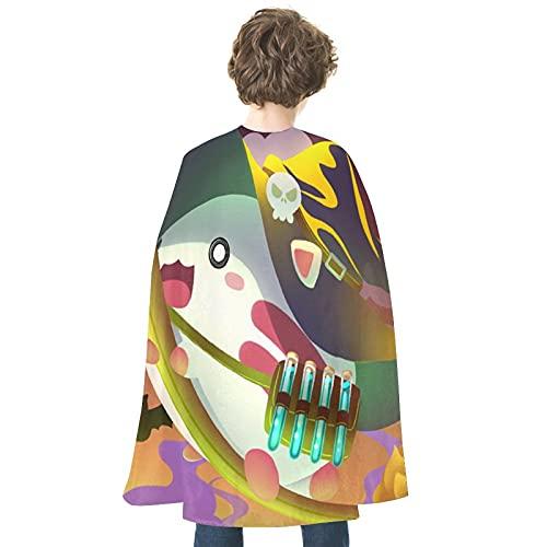 Disfraz de Halloween Cartoons131Personality Cloak Robe Colorido Halloween Mago Cabo Halloween Cosplay Disfraces Bruja Bruja Halloween Props