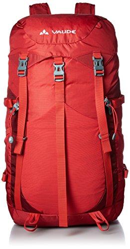 VAUDE Brenta - Mochila de Acampada (25 L) Rojo Rojo Talla:56 cm