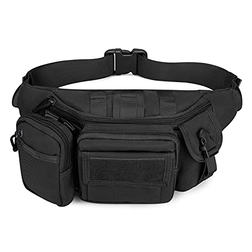 Tactical Waist Bag Molle Military Chest Pack Bag Small Sling Bag for...