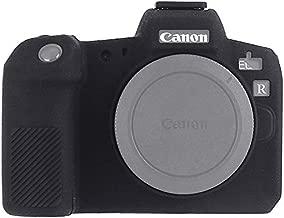 STSEETOP Canon EOS R Camera Case, Professional Silicone Rubber Camera Case Cover Detachable Protective Case for Canon EOS R (Black)