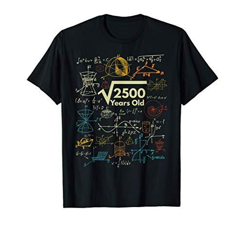 Formule Matematiche 50 Anni di Compleanno 1971 Idee Regalo Maglietta