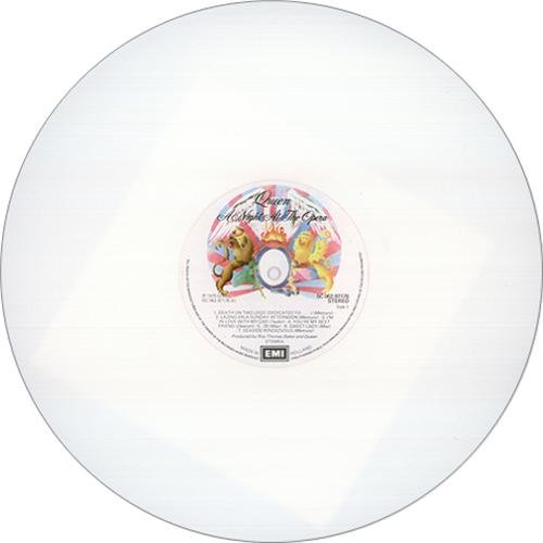 QUEEN - A Night at the Opera (Limited Colour Vinyl / White LP)