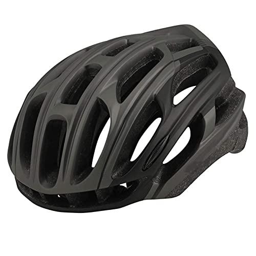 Casco de bicicleta con luz de cola LED Casco de bicicleta adulto Casco ligero ajustable Ciclismo de montaña y ciclo de carretera para hombres Mujeres Unisex Allround Casco de ciclismo ,Proteccion