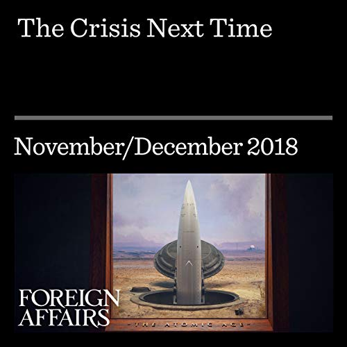 The Crisis Next Time audiobook cover art
