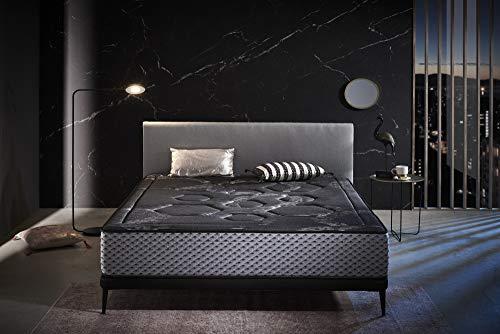 ECCOX - Colchón Viscoelástico Luxury Grafeno Night Confort 67,50x190 Altura 30 cm +/- Firmeza Media-Alta -2 Firmeza Media-Alta